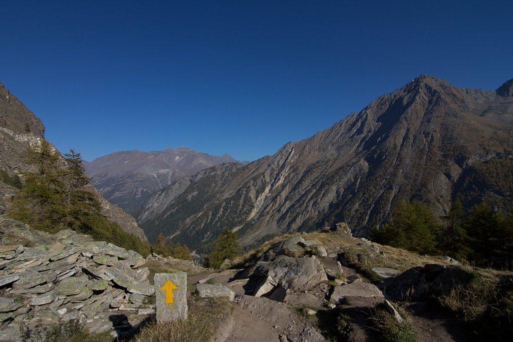 Bjergene - den vej
