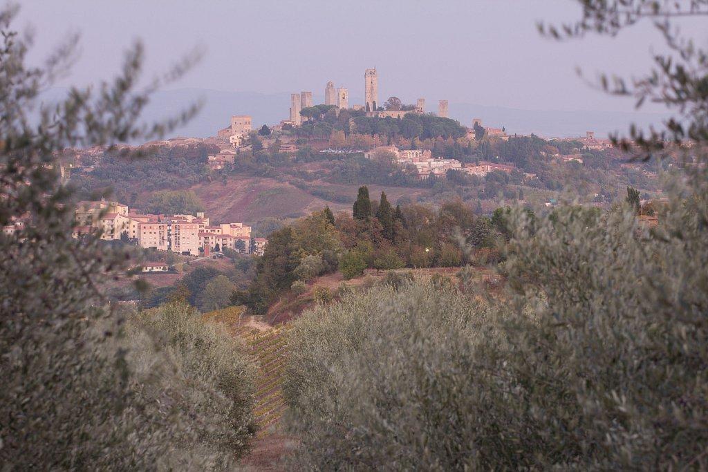 San Gimignano - på afstand