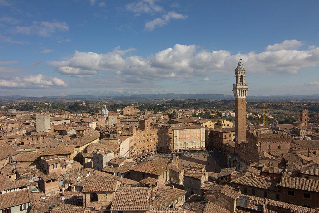Siena centrum
